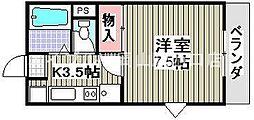 プラドール[1階]の間取り