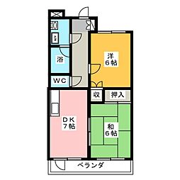 ロベリア[2階]の間取り