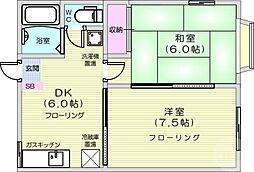 八木山動物公園駅 4.3万円