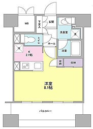 スタイリオ横浜反町[7階]の間取り