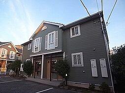 千葉県我孫子市天王台5丁目の賃貸アパートの外観