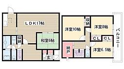 [一戸建] 愛知県名古屋市名東区勢子坊3丁目 の賃貸【/】の間取り
