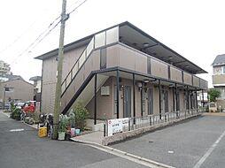 京都府京都市伏見区深草七瀬川町の賃貸アパートの外観