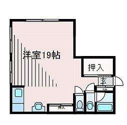 メゾン新百合ヶ丘[1階]の間取り