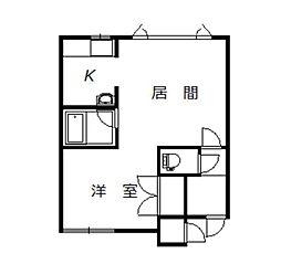 エクセレントハウス[202号室]の間取り