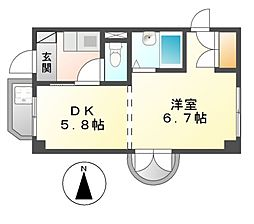 第三貞和ビル[2階]の間取り