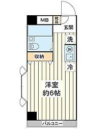 サンブライト9[2階]の間取り