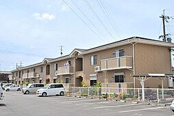 京都府八幡市八幡吉原の賃貸アパートの外観