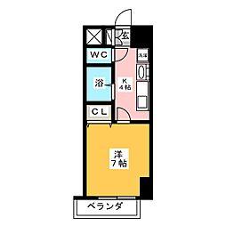 リプル千代田[4階]の間取り