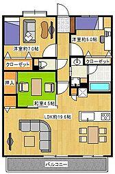 アプローズ南福岡駅[11階]の間取り