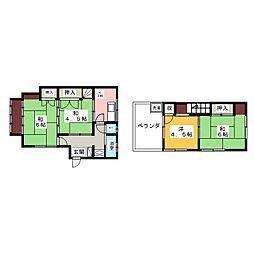 吉野荘[2階]の間取り