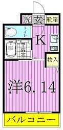 ハイポイント竹ノ塚[8階]の間取り