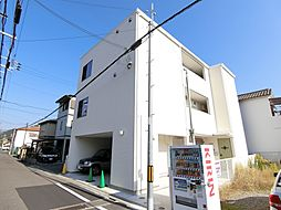 大阪府河内長野市菊水町の賃貸アパートの外観