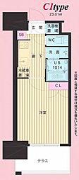No.111 CLUB ORIENT BLD TRADING 12階1Kの間取り