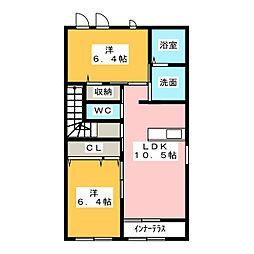 舞々家[2階]の間取り