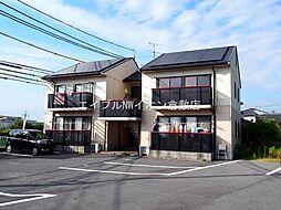 岡山県倉敷市玉島丁目なしの賃貸アパートの外観