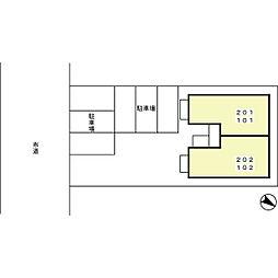 サン アソシエ[1階]の外観