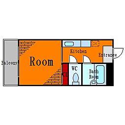 錦糸町ハイタウン[3階]の間取り