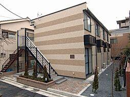 東京都江戸川区江戸川6丁目の賃貸アパートの外観