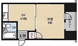 城東第8ビル[6階]の間取り