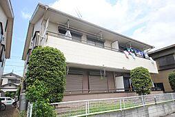 埼玉県越谷市七左町6丁目の賃貸アパートの外観