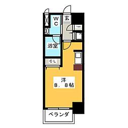 glanz[9階]の間取り