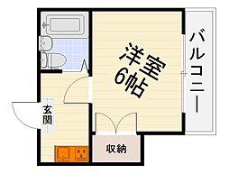 エルム泉大津パートI[4階]の間取り