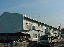 京都府宇治市宇治半白の賃貸アパートの外観