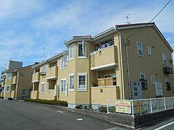 愛媛県松山市樽味3丁目の賃貸アパートの外観