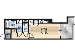 新居マンション[4階]の間取り