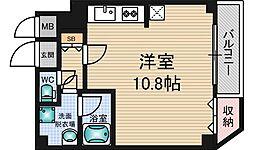 パークハウスヒノ[4階]の間取り