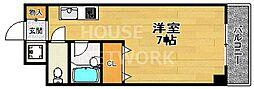 グランタック四条大宮/旧ハイムクレスタ21[3C号室号室]の間取り