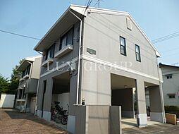 東京都国立市東2丁目の賃貸アパートの外観