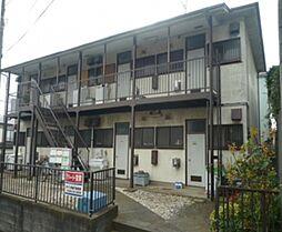 加賀ハイツC棟[1階]の外観