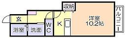 フォレストヒルズ2号館[1階]の間取り