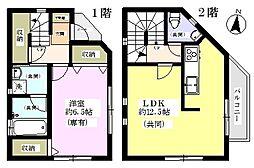 [一戸建] 埼玉県川口市芝下2丁目 の賃貸【/】の間取り