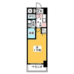 KIAORA (キオーラ)[6階]の間取り
