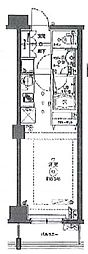 クリオ平和島 bt[302kk号室]の間取り
