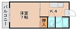 メゾンドエスポワール[3階]の間取り