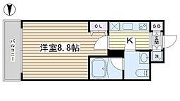 サンパレス田端壱番館[311号室]の間取り