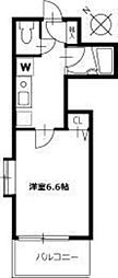 エルスタンザ中野新井[0401号室]の間取り