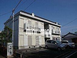 静岡県駿東郡長泉町本宿の賃貸アパートの外観