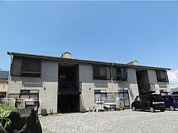 静岡県御殿場市茱萸沢の賃貸アパートの外観