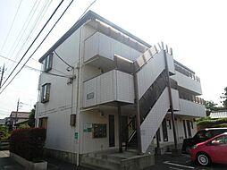 埼玉県さいたま市南区太田窪の賃貸アパートの外観