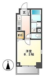 ノイグランツD[6階]の間取り