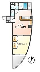 さくらHills富士見[8階]の間取り