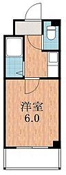 カルム四天王寺[10階]の間取り