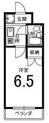 第17シャルマン四条大宮壱番館[302号室]の間取り