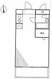 マートルコート西台[1階]の間取り