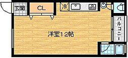 天満マンション1号館[2階]の間取り